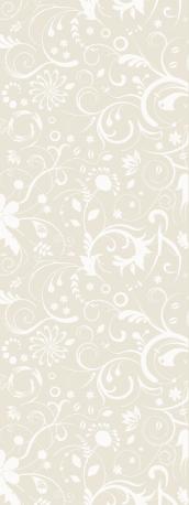 florales Jugendstil-Muster